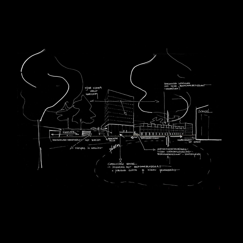 CTA_Masterplan Nieuw Stationskwartier_Fase 2_Beeld 3_ZW